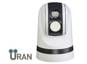 Тепловизионная поворотная камера с оптическим увеличением Uran 700PTZ