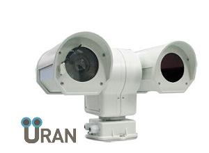 Тепловизионная поворотная камера с оптическим увеличением Uran 600PTZ