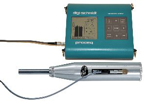 Электронный молоток для контроля бетона Digi-Schmidt