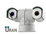Тепловизионная поворотная камера с оптическим увеличением Uran 400PTZ