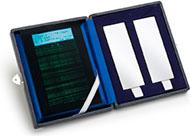 Хромо-никелевые испытательные панели Magnaflux